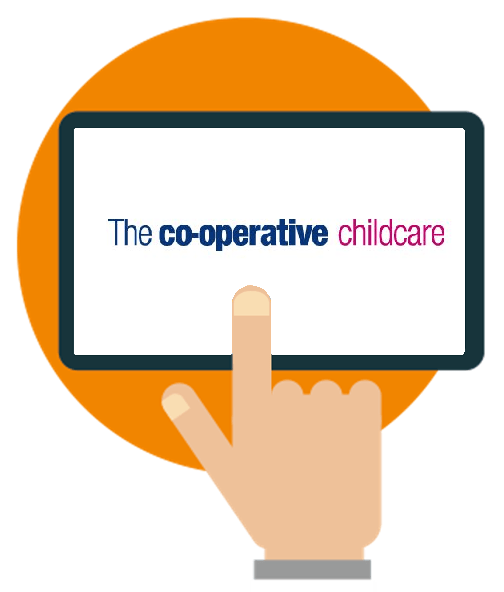 The Cooperative childcare nursery software case study logo