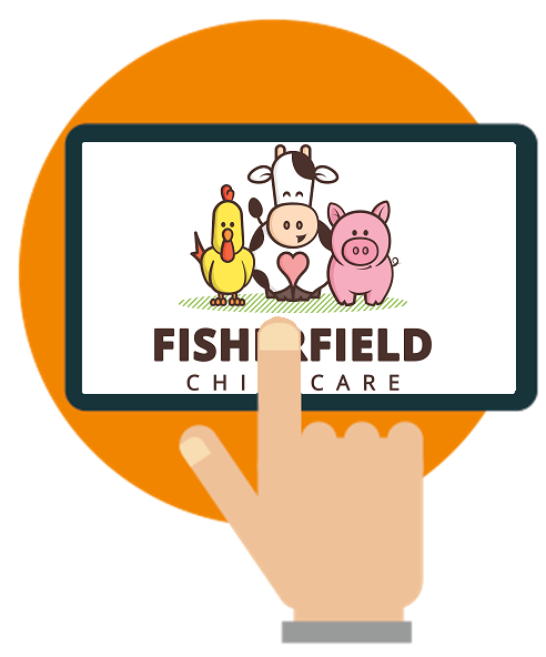 Fisherfield Childcare nursery software case study logo