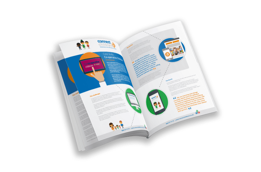 Cooperative Childcare nusery software case study cover