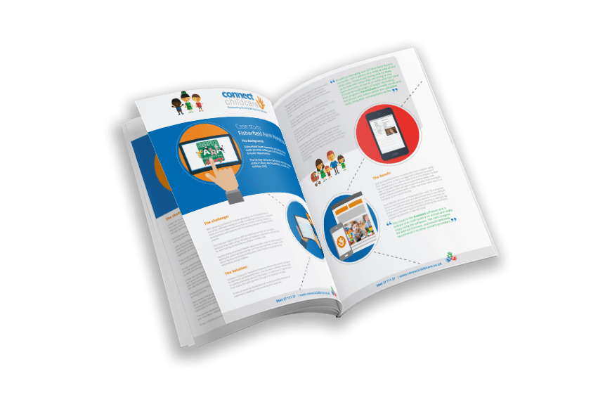 Fisherfield childcare nusery software case study cover
