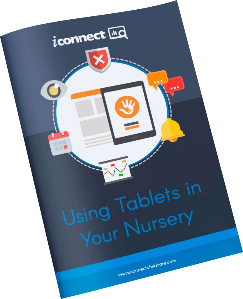 using tablets in your nursery for observations
