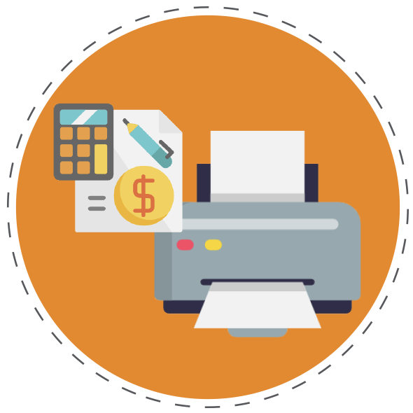 Reduce Printing Costs Graphics