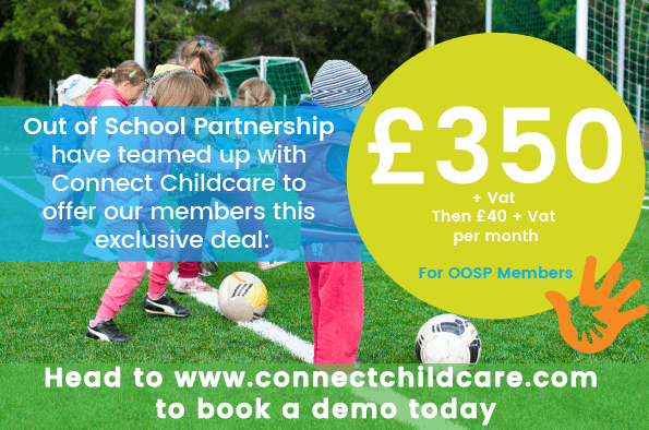 OOSP members get Connect Childcare at a discounted rate