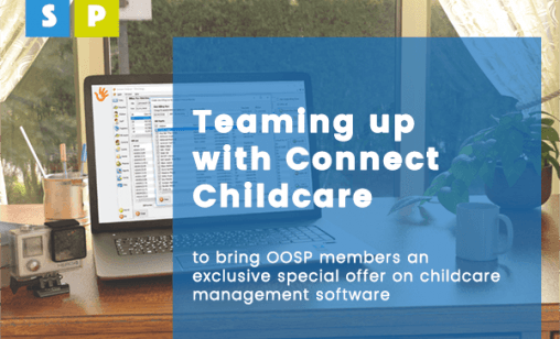 OOSP working together with Connect Childcare to provide software for out of school clubs.