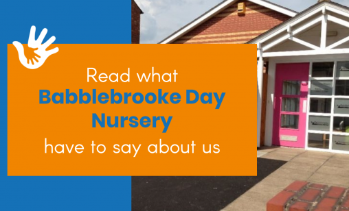 Babblebrooke day nursery graphic