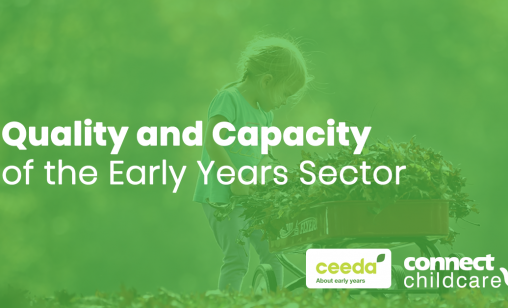 Quality and Capacity in the early years 2018