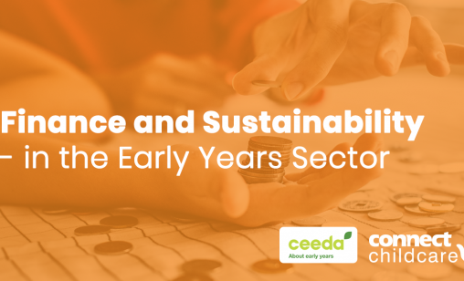 Finance and sustainability in the early years