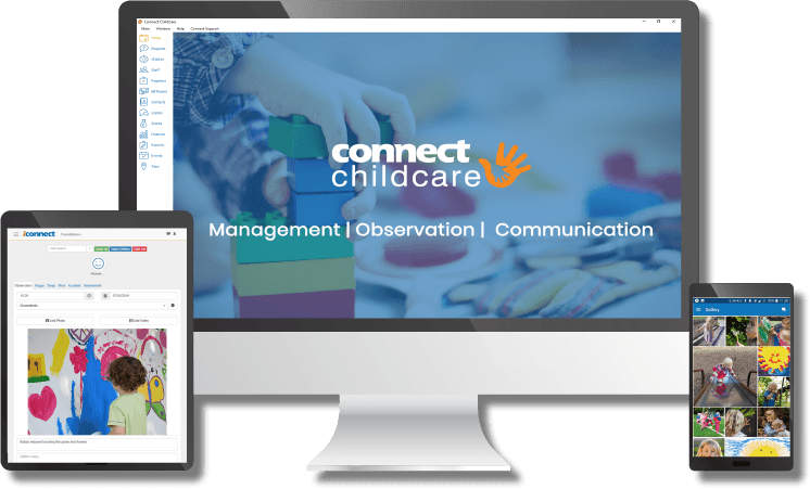 Connect Childcare's Nursery Management Products work on all devices