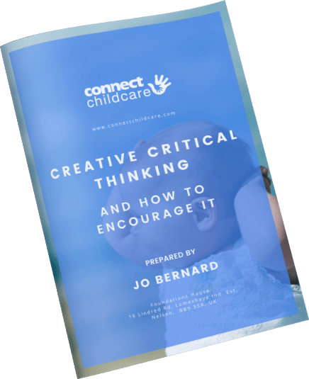 creative critical thinking ebook cover