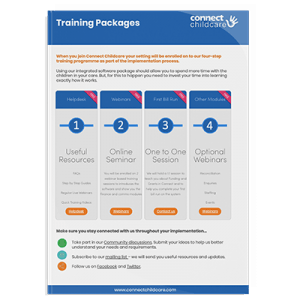 Training Packages Document