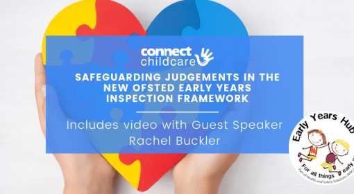 Safeguarding judgements in the new Ofsted Early Years Inspection Framework