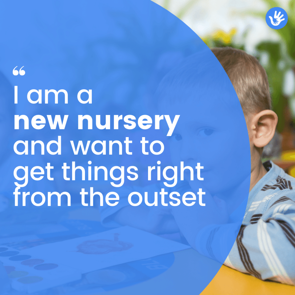 Challenges faced by a new nursery
