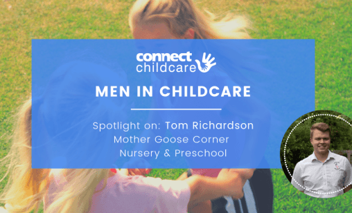 Men in Childcare Blog Image Tom Richardson