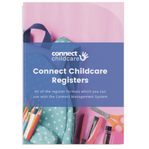 Connect Childcare register Templates