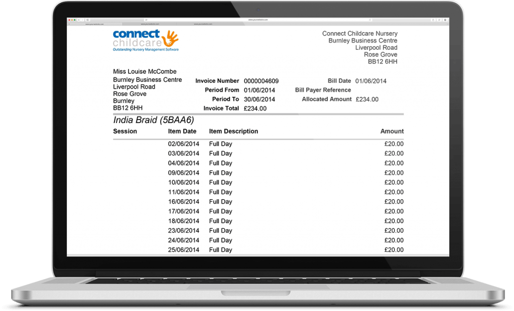 Connect Childcare Billing