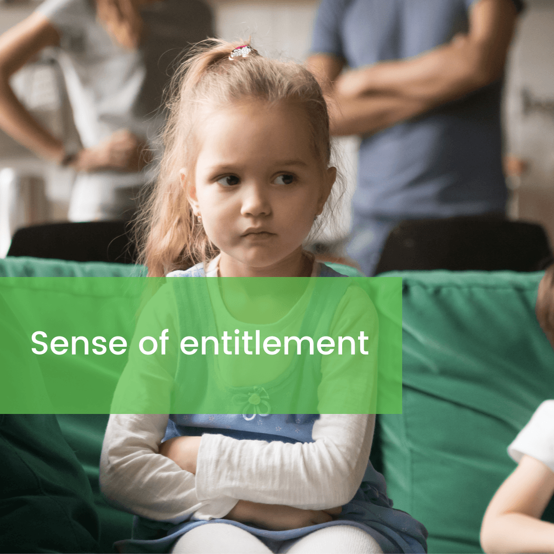 Sense of entitlement