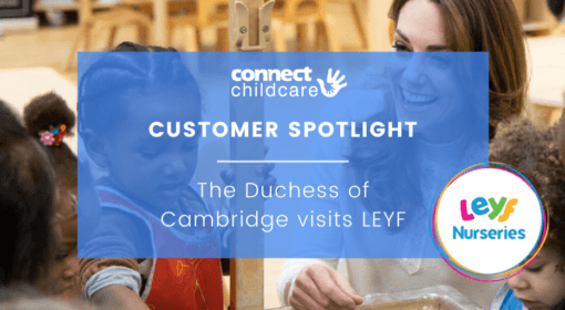The Duchess of Cambridge visits London Early Years Foundation
