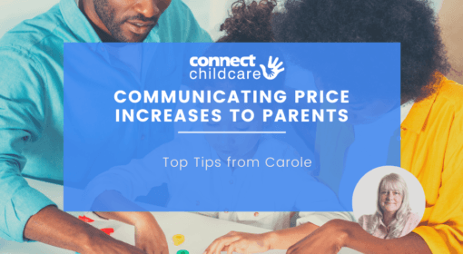 Effectively communicating price increases to parents