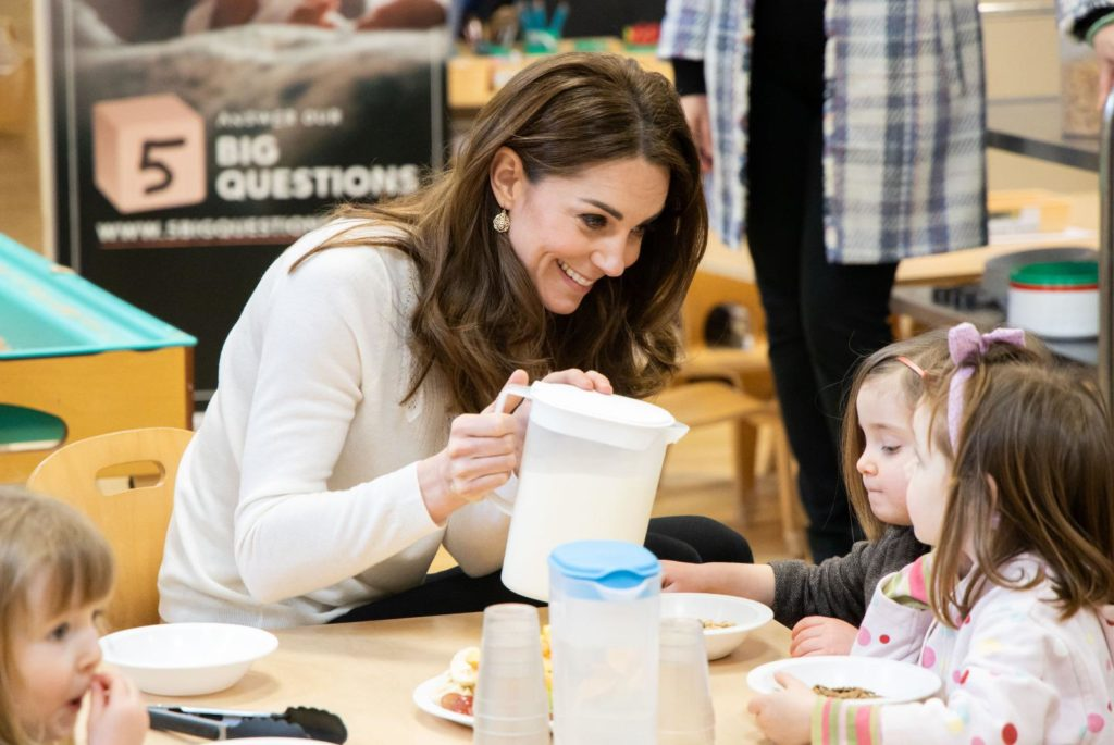 Duchess of Cambridge at LEYF